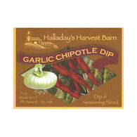 Halladay's Harvest Barn Garlic Chipotle Dip & Seasoning Blend
