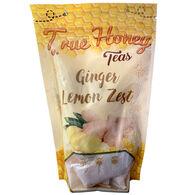True Honey Teas Ginger Lemon Zest - 12 Pack