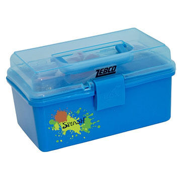 Zebco Children's Splash Tackle Box w/ Tackle