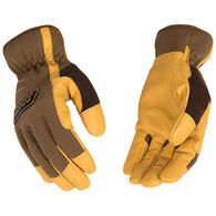 Kinco Men's KincoPro Lined Brown Synthetic Glove