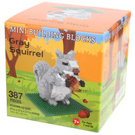 Impact Photographics Gray Squirrel Mini Building Blocks