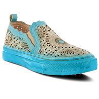 Spring Footwear Women's Hannah Cutout Slip-on Casual Shoe