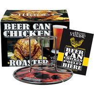 Gourmet Du Village Beer Can Chicken Roaster