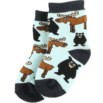 Lazy One Infant/Toddler Boys' Born to Be Wild Sock