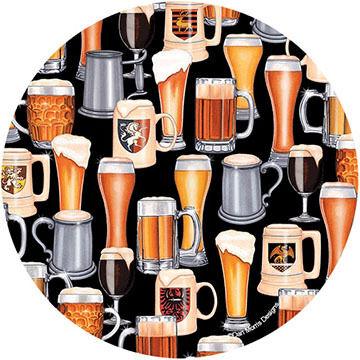 Thirstystone Beer Collage Coaster Set, 4-Piece