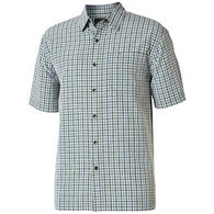 Royal Robbins Men's Mojave Pucker Plaid Short-Sleeve Shirt