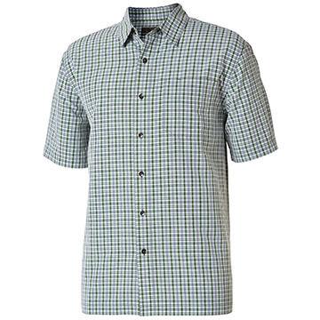 Royal Robbins Mens Mojave Pucker Plaid Short-Sleeve Shirt