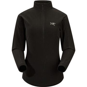 Arc'teryx Women's Delta LT Zip Neck Fleece Top