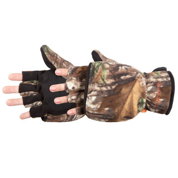Manzella Mens Bow Hunter Convertible Hunting Glove