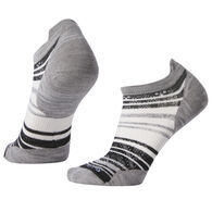 SmartWool Women's PhD Run Ultra Light Striped Micro Sock
