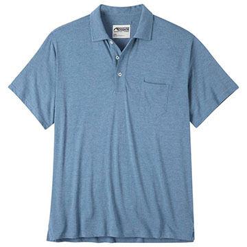 Mountain Khakis Mens Patio Polo Short-Sleeve Shirt