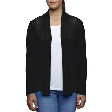 River Womens Shawl-Collar Open Front Cardigan