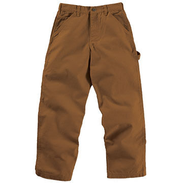 Carhartt Boys Washed Duck Canvas Dungaree Pant