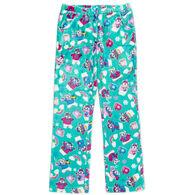 Candy Pink Girl's Polar Bear Pajama Pant