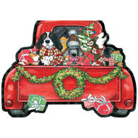 LPG Greetings Pickup Truck Ornament Boxed Christmas Cards