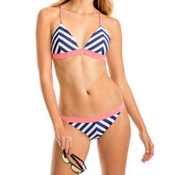 Southern Tide Women's Retreat Chevron Triangle Bikini Top