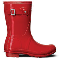 Hunter Boots Women's Original Short Gloss Rain Boot