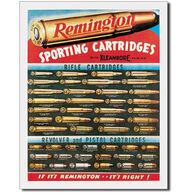 Desperate Enterprises Remington Sporting Cartridges Tin Sign