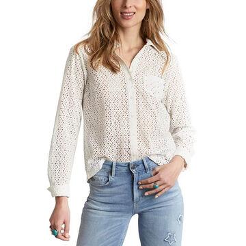 Odd Molly Womens Blousy Long-Sleeve Shirt