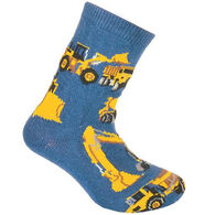 Wheel House Designs Construction Vehicles Sock