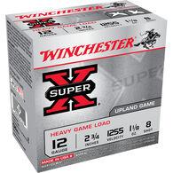 "Winchester Super X Heavy Game Load 12 GA 2.75"" 1-1/8 oz. #8 Shotshell Ammo (25)"