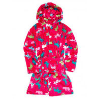 Hatley Women's Patterned Moose Robe