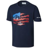 Columbia Boy's Peak Freak Short-Sleeve Shirt