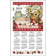 Kay Dee Designs 2018 Apple Pie Calendar Towel