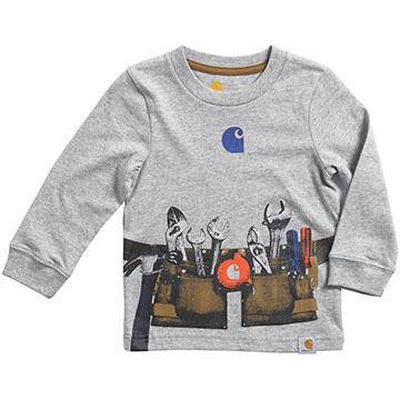Carhartt Infant/Toddler Boys Toolbelt Long-Sleeve T-Shirt