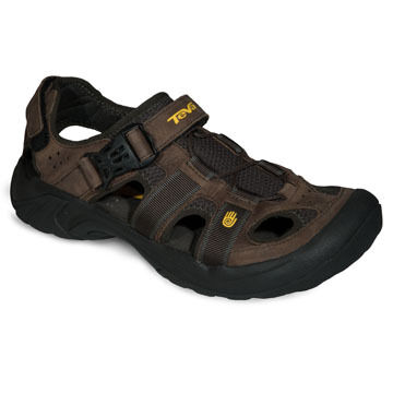 Teva Men's Omnium Leather Sport Sandal