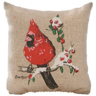 "Maine Balsam Fir 4"" x 4"" Cardinal Balsam Pillow"