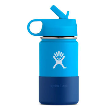 Hydro Flask Childrens 12 oz. Wide Mouth Straw Lid Insulated Bottle