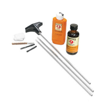 Hoppes 17 / 204 Cal. Cleaning Kit w/ Steel Rod