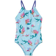 Hatley Girl's Mermaid Tales Swimsuit