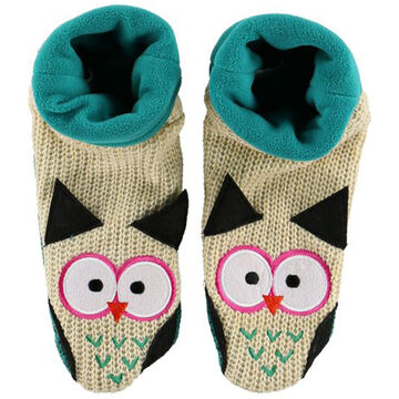 Lazy One Boys & Girls Owl Woodland Slipper Sock