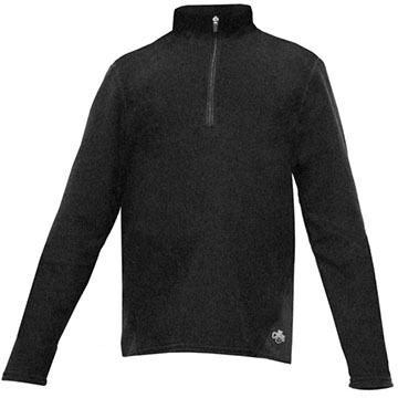 Hot Chillys Youth La Montana Zip-T Baselayer Top