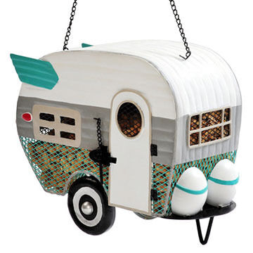 Outside Inside Mesh Camper Bird Feeder