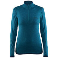 Craft Sportswear Women's Active Comfort Zip Long-Sleeve Baselayer Top