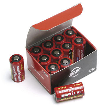 SureFire Lithium Battery - 2 or 12 Pk.