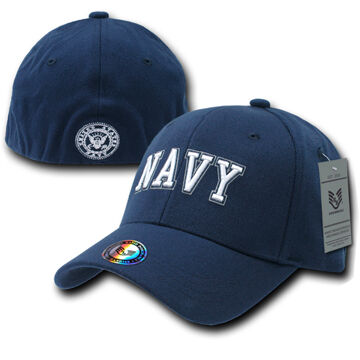 Rapid Dominance Mens Flex Baseball Cap - Navy