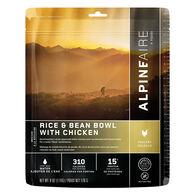 AlpineAire Rice & Bean Bowl w/ Chicken Gluten Free Meal - 2 Servings