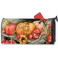 MailWraps Welcome Fall Pumpkins Mailbox Cover