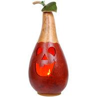 Meadowbrooke Gourds Darren Medium Tall Lit Jack-O'-Lantern