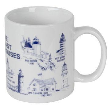 Carville's Lighthouse Ceramic Mug