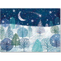 Peter Pauper Press A Midnight Clear w/Keepsake Box Deluxe Holiday Cards