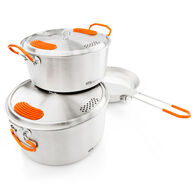 GSI Outdoors Glacier Stainless Base Camper Medium Cook Set