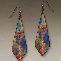 Illustrated Lights DC Designs Teardrop Earrings