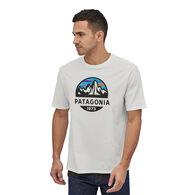 Patagonia Men's Fitz Roy Scope Organic Cotton Short-Sleeve T-Shirt