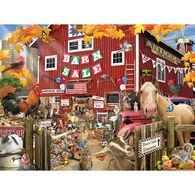 White Mountain Jigsaw Puzzle - Barn Sale
