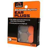 Walker's Silicone Putty Ear Plug - 3 Pair Pack